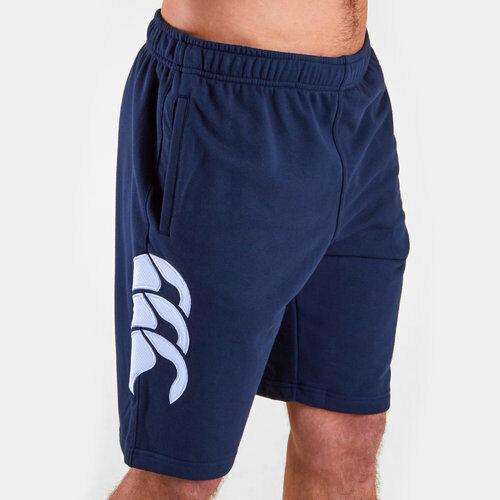 Canterbury Rugby Men/'s Core Logo Jogger Shorts Navy New