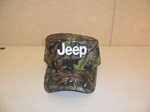 JEEP-HAT-CADET-STYLE-GREEN-BROWN-LEAF-CAMOUFLAGE-FREE-SHIPPING-GREAT-GIFT-737