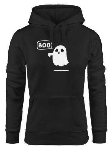 Con Cappuccio-Pullover da Donna spirito Boo spettro Halloween hoodie moonworks ®