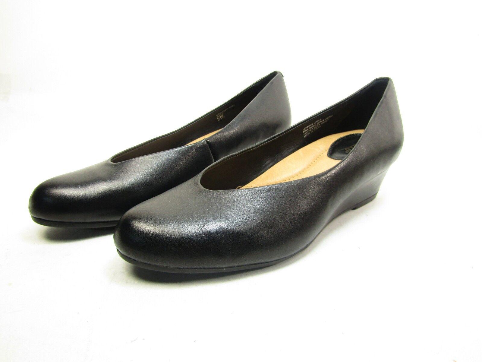 Earth Woodbury Bark Full Grain Leather (Women's) Black  Size 9.5D