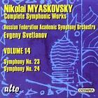Myaskovsky:Sinfonien 23+24 von Russian Federation Academic Sym.Orch.,Svetlanov (2008)