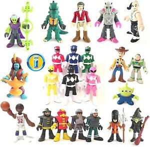 ALL-IMAGINEXT-FIGURES-Series-Power-Rangers-Action-Heroes-Loose-Please-select