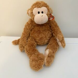 2004 Ty Beanie Original Buddies FUMBLES the Monkey with Tags Retired
