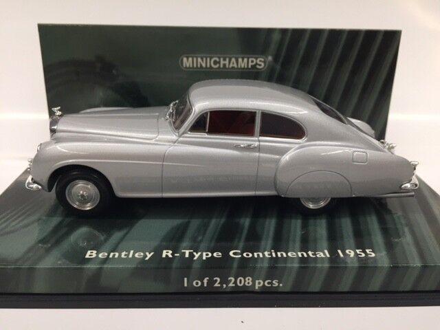 1 43 MINICHAMPS BENTLEY R-TYPE CONTINENTAL 1955