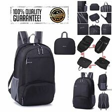 30L Lightweight Folding Backpack Day-pack Waterproof Sports Camping Travel Sport