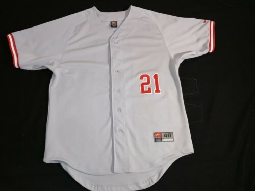 Vintage nike baseball jersey 90S AUTHENTIC SIZE 48
