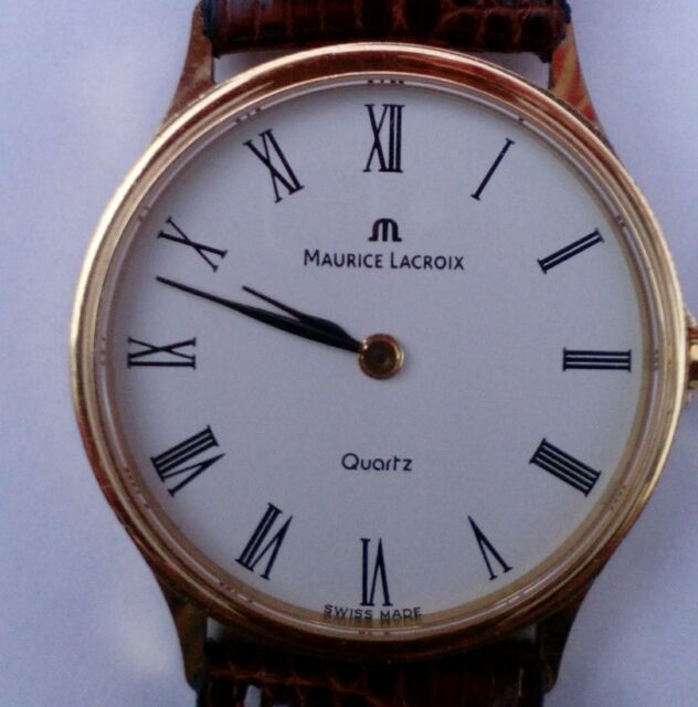 Maurice Lacroix...caballero...oro.18 k.