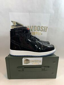 6abeb71e76bbdf Nike Womens Air Jordan 1 Rebel AR5599 001 Size 10 Black Patent Space ...