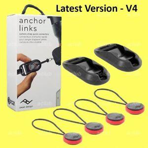Peak Design Anchor Links V4 Camera Strap Link Quick Connector AL-4 New 2018 818373020828