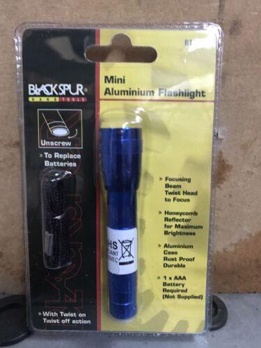 Brand New Blackspur Mini aluminium bleu lampe de poche