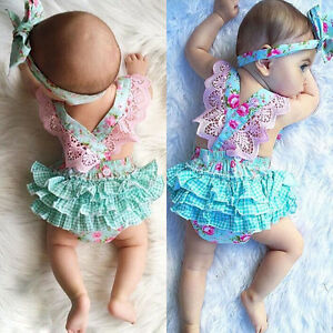 Newborn-Infant-Kids-Baby-Girl-Floral-Clothes-Jumpsuit-Romper-Sunsuit-Outfits-Set