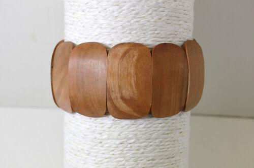 Bracelet femme bois Commerce équitable Naturel,écologique