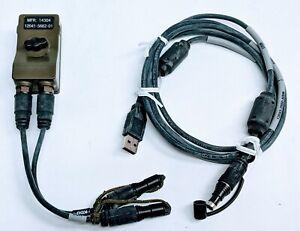Harris 12041-5662-01 Falcon III Handheld PRC-152A KDU//USB Programming Cable Kit