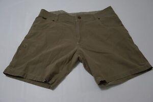 Kuhl-Vintage-Patina-Dye-Light-Green-Cotton-Blend-Hiking-Shorts-Sz-36