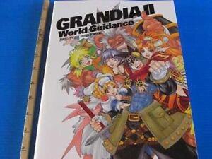 Grandia-II-World-Guidance-Official-Sketch-Book-Game-Art-book
