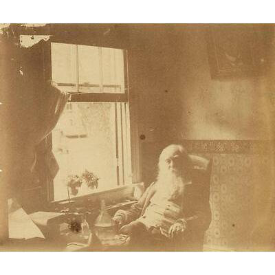 8. THOMAS EAKINS, attributed to (1844-1916) Portrait of Walt Whitman, Camden. Lot 8