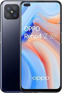 "SMARTPHONE OPPO RENO 4Z 5G INK BLACK 128GB 8GB RAM DISPLAY 6.57"" DUAL SIM"