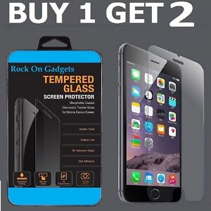 For-Apple-IPhone-6-Plus-100-Tempered-Glass-Film-Screen-Protector-New