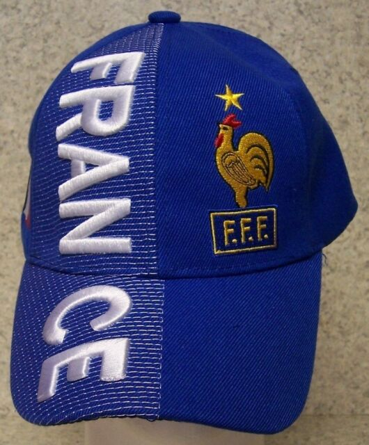 Embroidered Baseball Cap Soccer International France FFF Football Club NEW 0f389dca53c