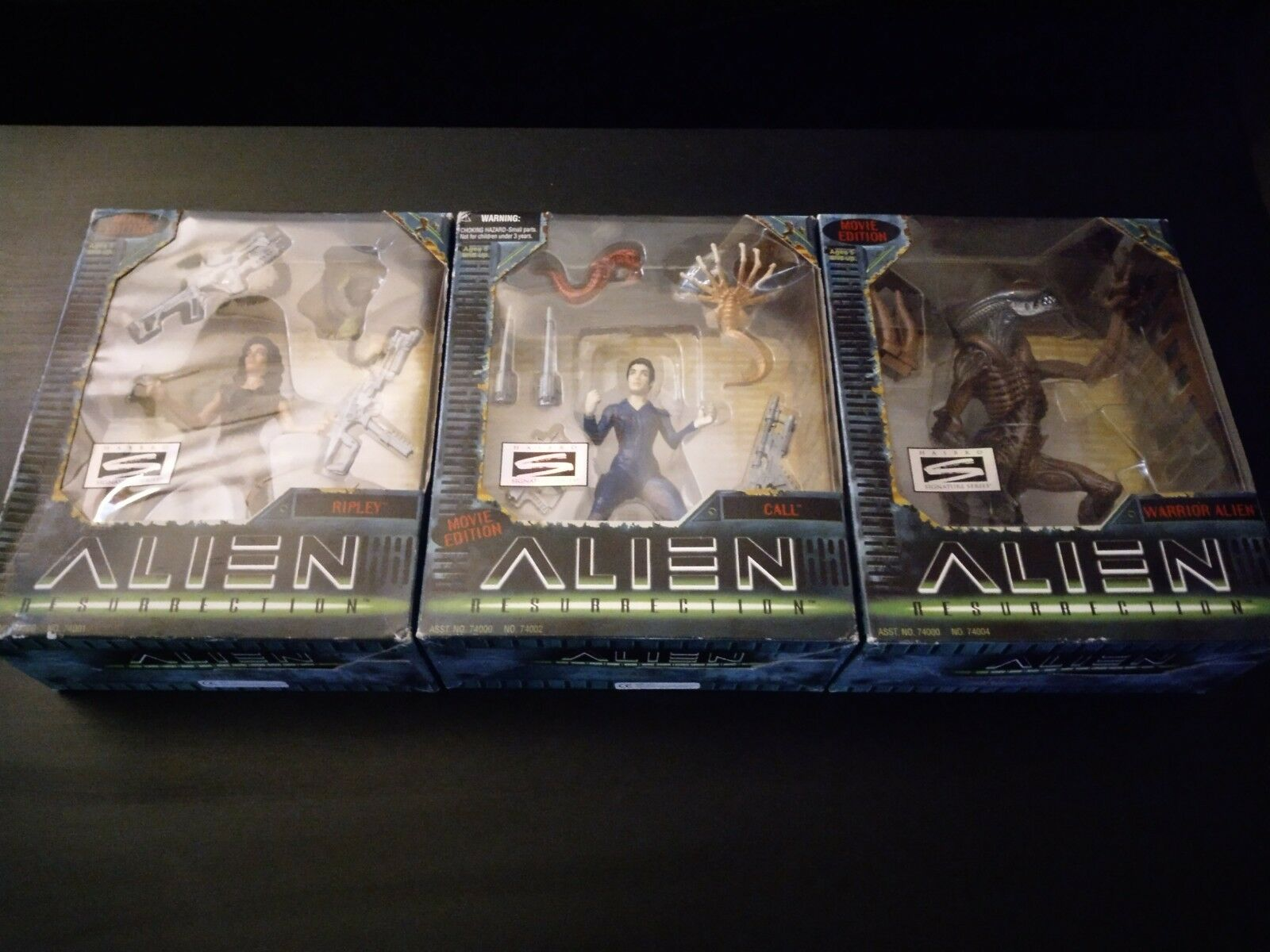 Alien Resurrection Kenner Ripley Call Alien Warrior New Collector