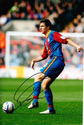 Crystal Palace F.C Owen Garvan Hand Signed 1213 Photo 12x8 2.
