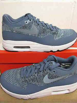 premium selection 5a45e 6df1d Nike Air Max 1 Ultra 2.0 Flyknit Mens Running Trainers 875942 400 Sneakers  Shoes | eBay