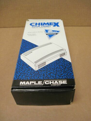 Maple Chase Chimex 08040 Door Chime 2 Lighted Button Kit 120Vac 60Hz
