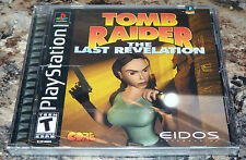 PLAYSTATION 1 - TOMB RAIDER The Last Revelation GAME Complete NEW Sealed PS1