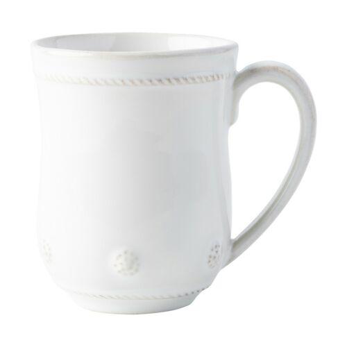 Mug Set of 4 Juliska Berry /& Thread Whitewash