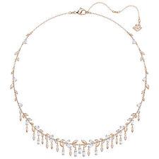 Mayfly Necklace LG White Rose Gold Plated Crystal 2018 Swarovski Jewelry 5409354