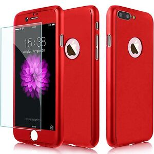 custodia iphone 7 red ultra thin