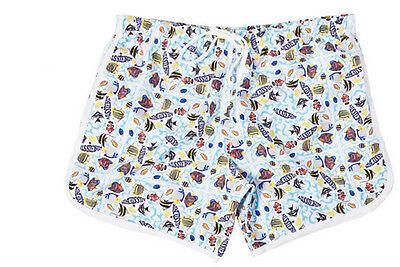Tropical Fish Men's boys Beach Swimming Swim Trunks Shorts Slim Pants Swimwears