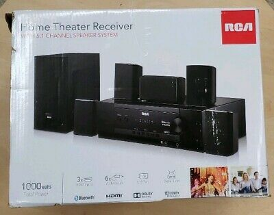 """RTS7010B ™ RCA 37/"""" 2-Channel Bluetooth Home Theater Sound Bar w// 3.5mm Aux Jack"""