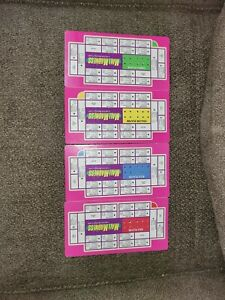 Milton-Bradley-Mall-Madness-1996-4-shopping-lists-Replacement-Part