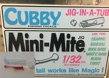 3 Pack Fishing Equipment 8005 Shadow Products Cubby Mini Mite NEW