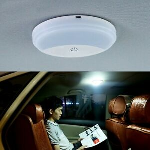 Car-Roof-Ceiling-Dome-Reading-Light-Portable-USB-Charging-Magnetic-LED-Lamp