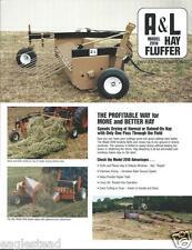 Farm Equipment Brochure - Parham - A&L - 2010 - Hay Fluffer  (F3902)