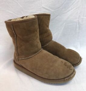 feb7456c690 Details about Chestnut UGG Australia Youth Classic 5251Y Boots Youth Size 6