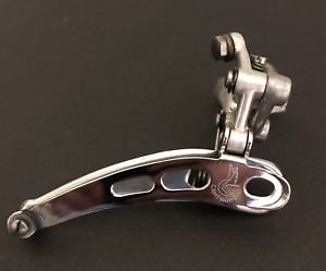 Campagnolo  Nuovo Record Front Derailleur 3-Hole clamp-on 1970s Vintage
