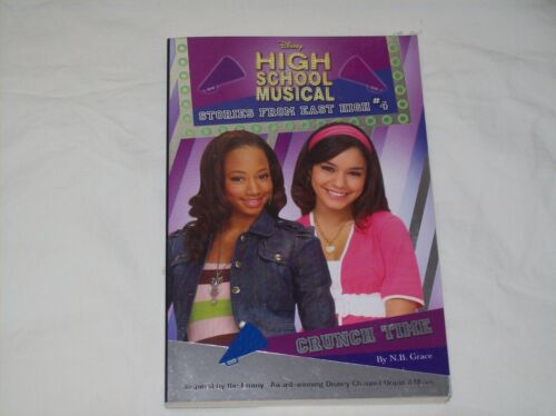 1 of 1 - High School Musical Book - Crunch Time - Paperback - New