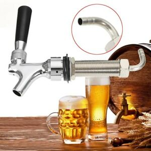 Auto-Close-Beer-Tap-Faucet-Draft-With-80mm-Long-Shank-For-Homebrew-Kegerator