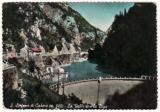 cartolina SANTO STEFANO DI CADORE la valle con la diga