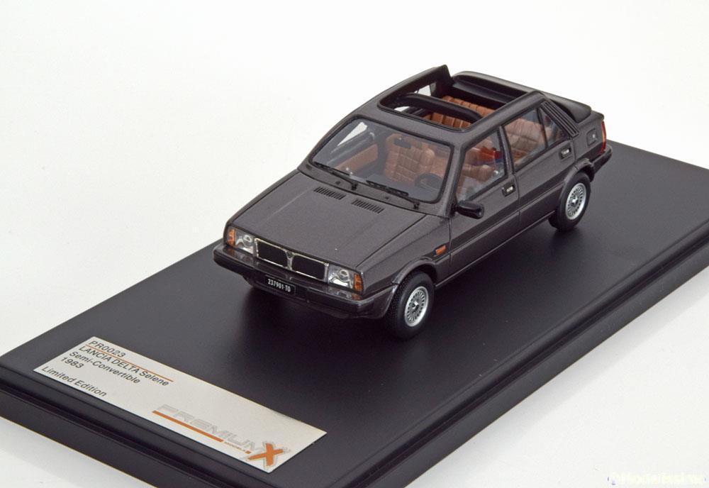 LANCIA DELTA SELENE SEMI CONverdeIBLE 1983 DARK grigio METAL PREMIUM X PR0023