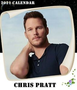CHRIS PRATT 2021 DESKTOP CALENDAR (5.4