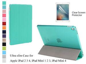 For-iPad-2-3-4-iPad-Mini-1-2-3-4-Screen-Protector-Slim-Magnetic-Smart-Cover-Case