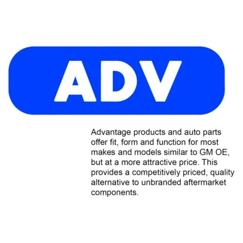 For Chevy Monte Carlo 70-72 ACDelco Advantage Steering Center Link Assembly