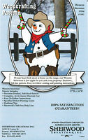 Western Snowman Christmas Yard Art Woodworking Plans By Sherwood Creations