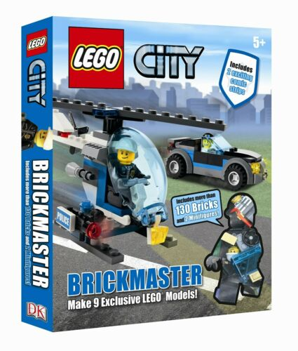 Brand New LEGO CITY BRICKMASTER BOOK