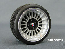 "99014-16/4 Alufelgen 1:18 Alpina-Design 16""  6/6mm p inkl. Logo"