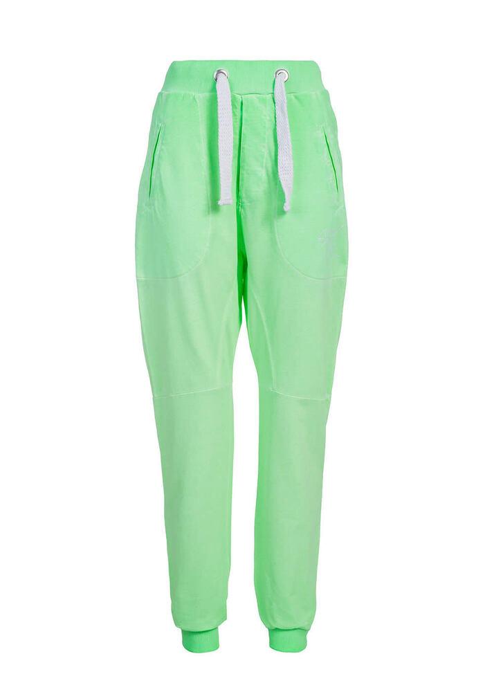 50% Off B14070138 Femmes Vsct Clubwear Pantalon Jogging En Neon Look Fluo Vert